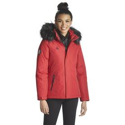 Reebok 3-in-1 Hooded Ski Jacket - Women's Size Large , Red
