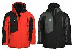 Spyder Big Boys' Full-Zip Flyte Ski Jacket
