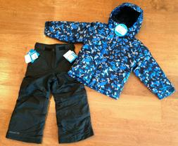Columbia Boy's Snow Ski Pants and Winter Jacket Coat Childre