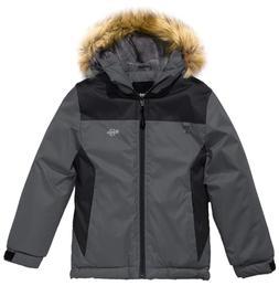 Wantdo Boy's Warm Windproof Coat Skiing Jacket Winter Rainwe