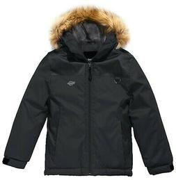 Wantdo Boy's Waterproof Ski Jacket Winter Coat Rainwear with