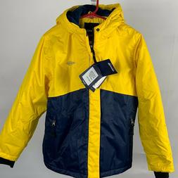 Wantdo Boy Winter Ski Jacket Coat Sz 10/12 Powder Skirt Brig
