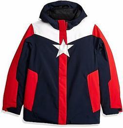 Spyder Boys Marvel Jacket, Ski Snowboard Jacket, Size XL , N