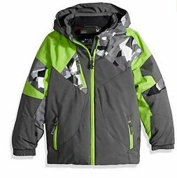 Spyder Boys Mini Leader Jacket, Ski Snowboard Winter Jacket,