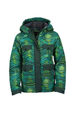 Arctix Boys Rock Star Insulated Winter Jacket, Large, Kingfi