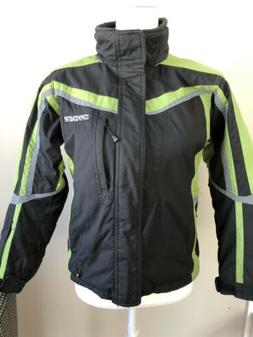 Boys Size 10 SPYDER winter ski Snowboard jacket Coat.