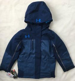 UNDER ARMOUR Boys Storm ColdGear Ski Snowboard Jacket Blue N