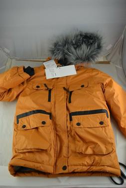 Wantdo Boys Waterproof Ski Jacket Parka Jacket Windproof War