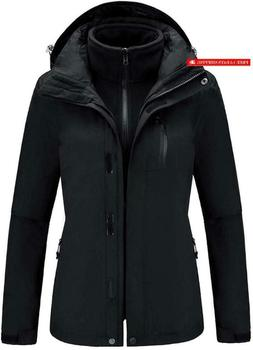 Camel Outdoor Jacket Women Winter Ski Jacket Windbreaker 3 I