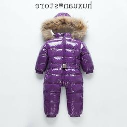 Children Down Jacket kids Jumpsuit Outdoor Clothing Winter S