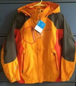 Columbia Omni Tech Rain Ski Jacket Shell Womens Small Waterp