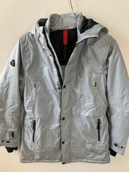 Bogner Fire+Ice Beta Long Parka Ski Jacket Insulated Silver