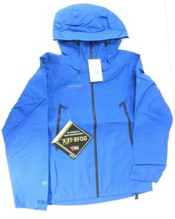 Marmot Fraxium Gore-Tex Men's True Blue Waterproof Hooded Ja