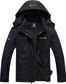 GEMYSE Men's Mountain Waterproof Ski Snow Jacket Winter Wind