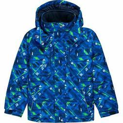 Stoic Geometric Printed Ski Jacket - Boys' Navy 5
