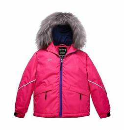 Wantdo Girl's Waterproof Ski Jacket Warm Winter Jacket Rainc