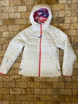 Patagonia Girls Aspen Grove Ski Jacket Coat Birch White XXL