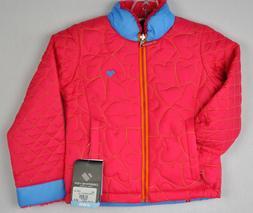 Obermeyer Girls Jitterbug Reversible Ski Snow Jacket 54009 P