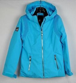 Descente Girls Olive Ski Snow Jacket DWJ-MGK09B Cerulean Blu