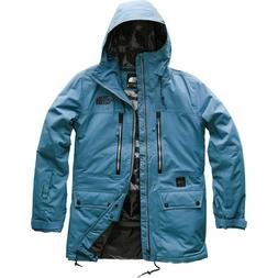 THE NORTH FACE GOLDMILL Mens Blue Snowboard Ski Jacket Size