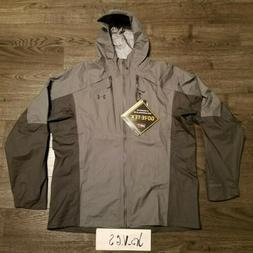 UNDER ARMOUR Gore Tex Storm Shell Jacket Grey snowboard Ski