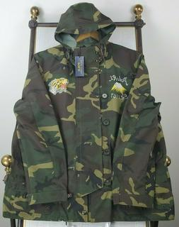 POLO RALPH LAUREN GRAPHIC  CAMO JAPAN TIGER MILITARY JACKET