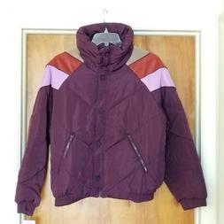 FREE PEOPLE Heidi Ski Puffer Jacket Size Large