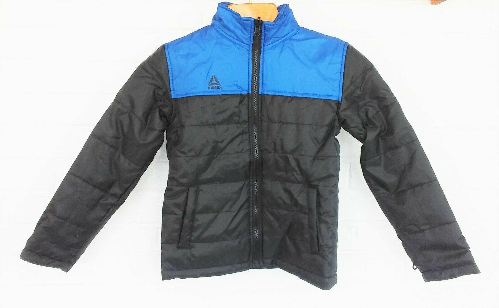 Reebok 3 Winter Snowboard Jacket Blue Black Size