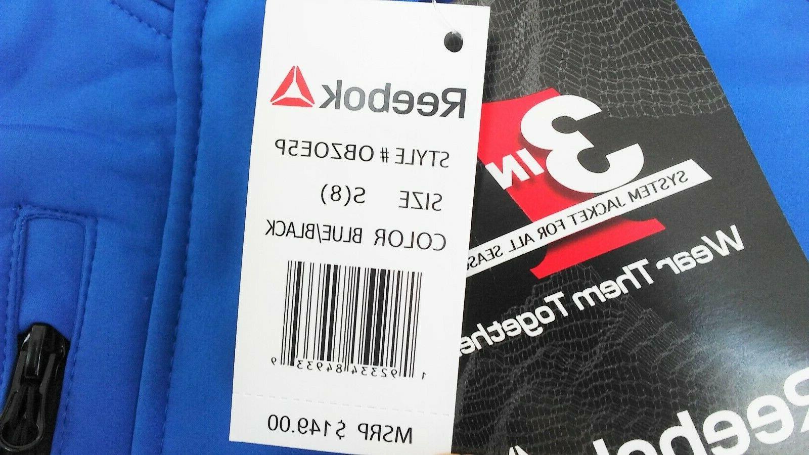 Reebok 3 in Winter Blue Black Size Small