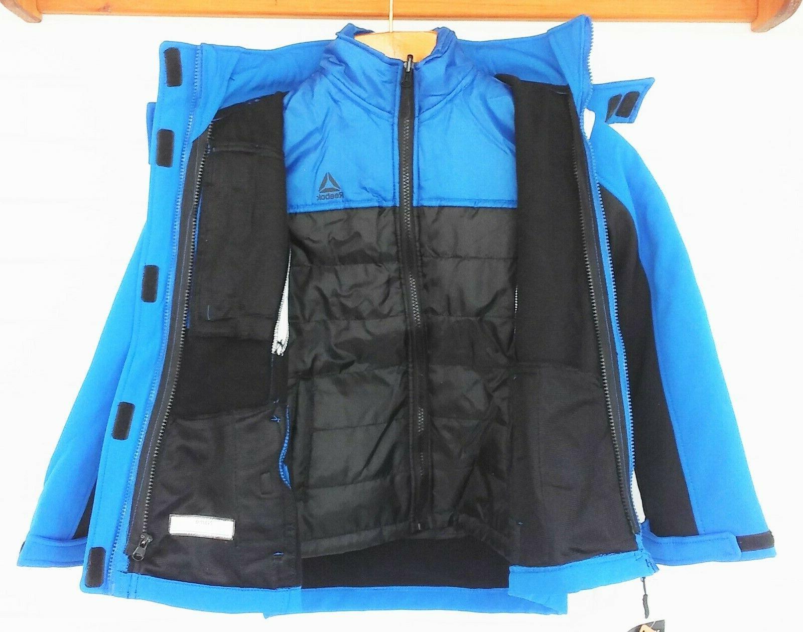 Reebok in Winter Blue Black Boys Size NWT