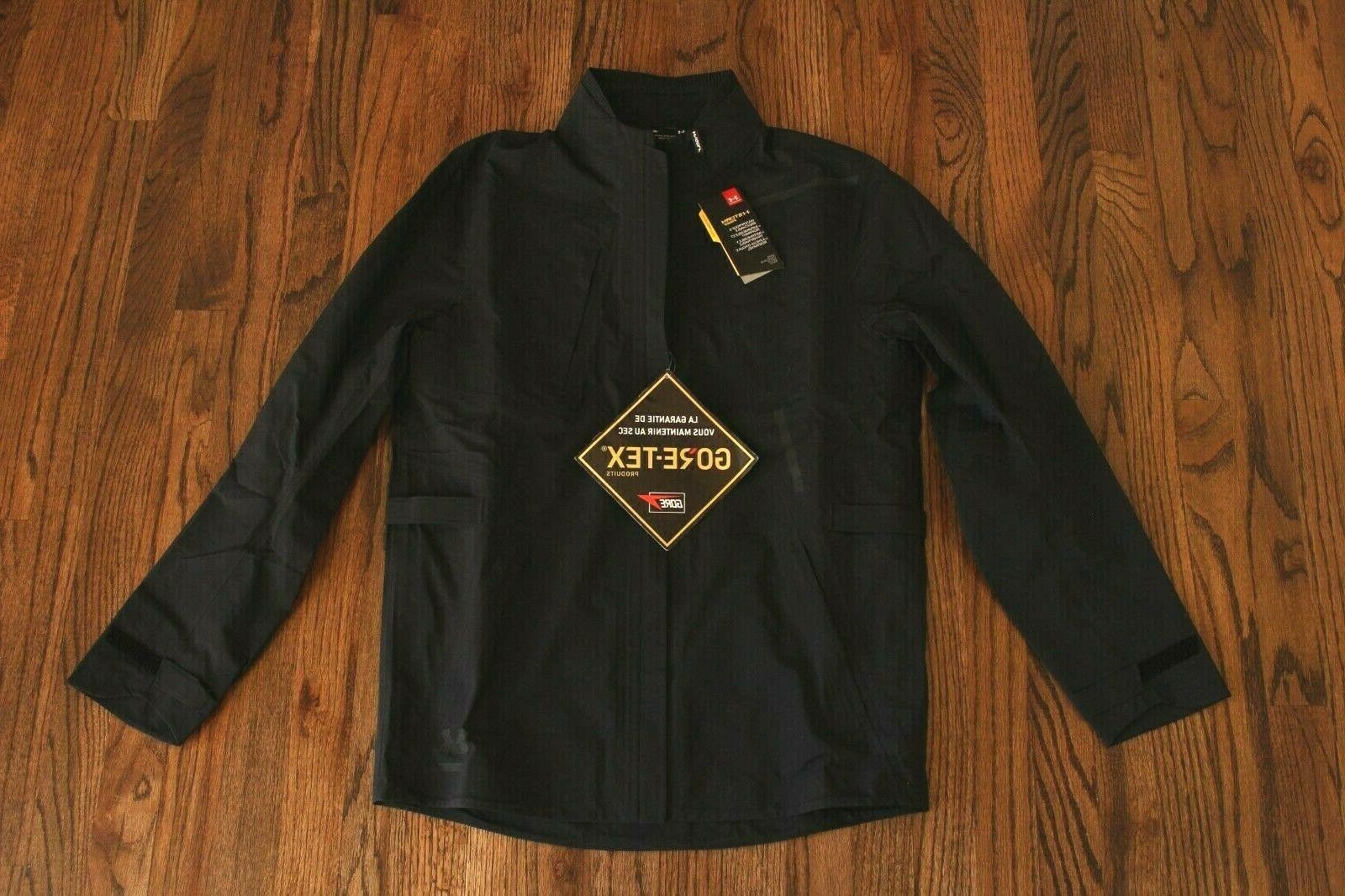 47 Armour GoreTex Mens Black Full Zip Storm Jacket