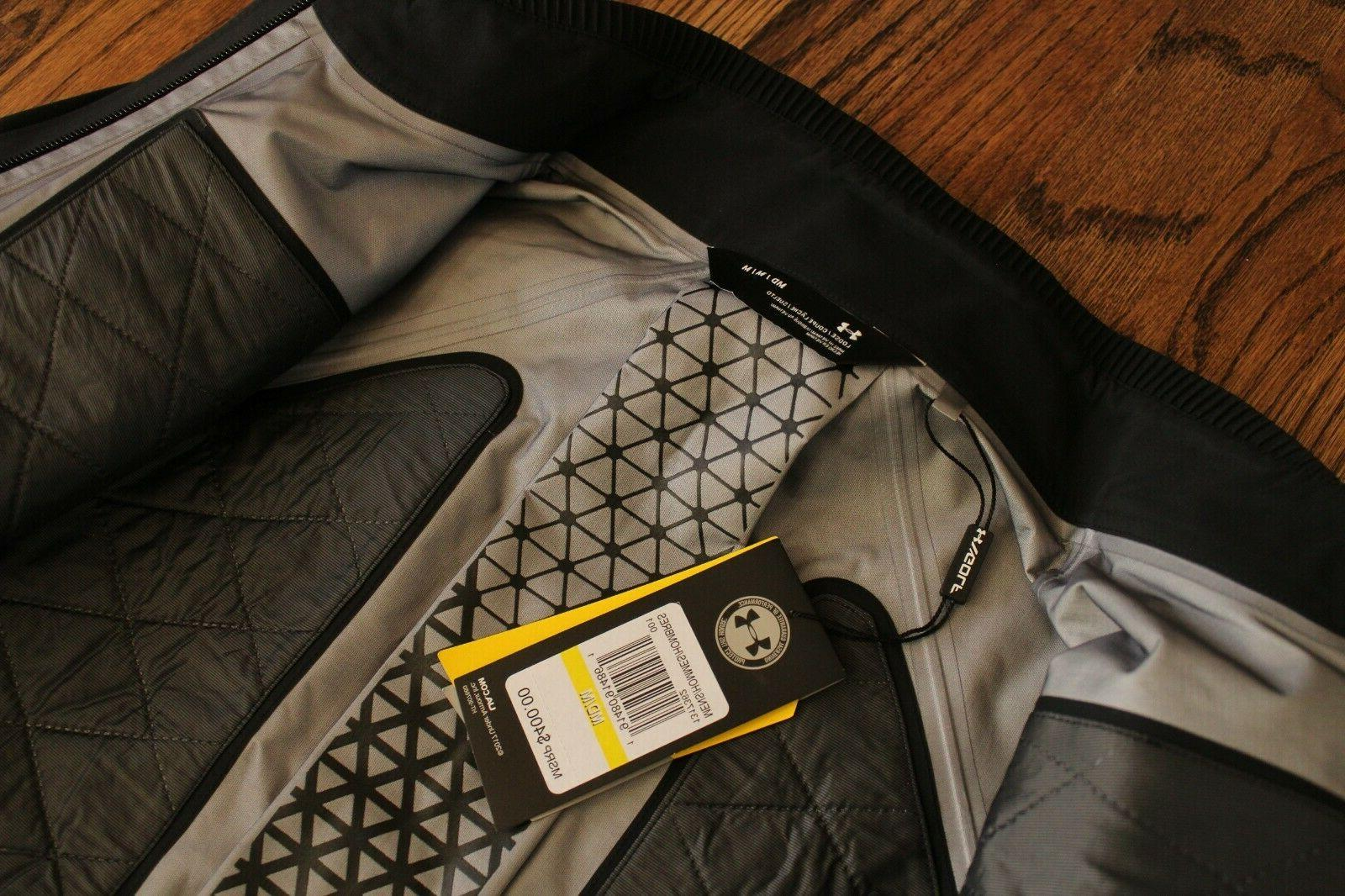 47 Under Perpetual GoreTex Mens Black Full Zip Jacket
