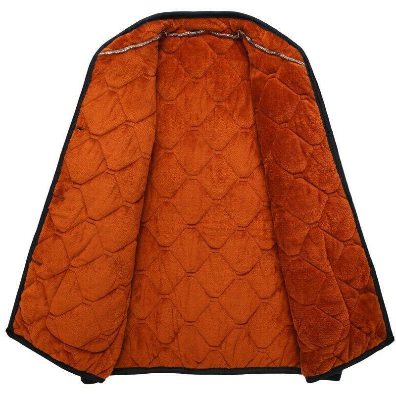 Padded Jacket Single Breasted Warm Zsell