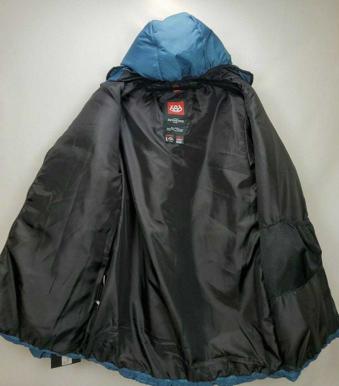 686 Snowboard Large Blue Waterproof