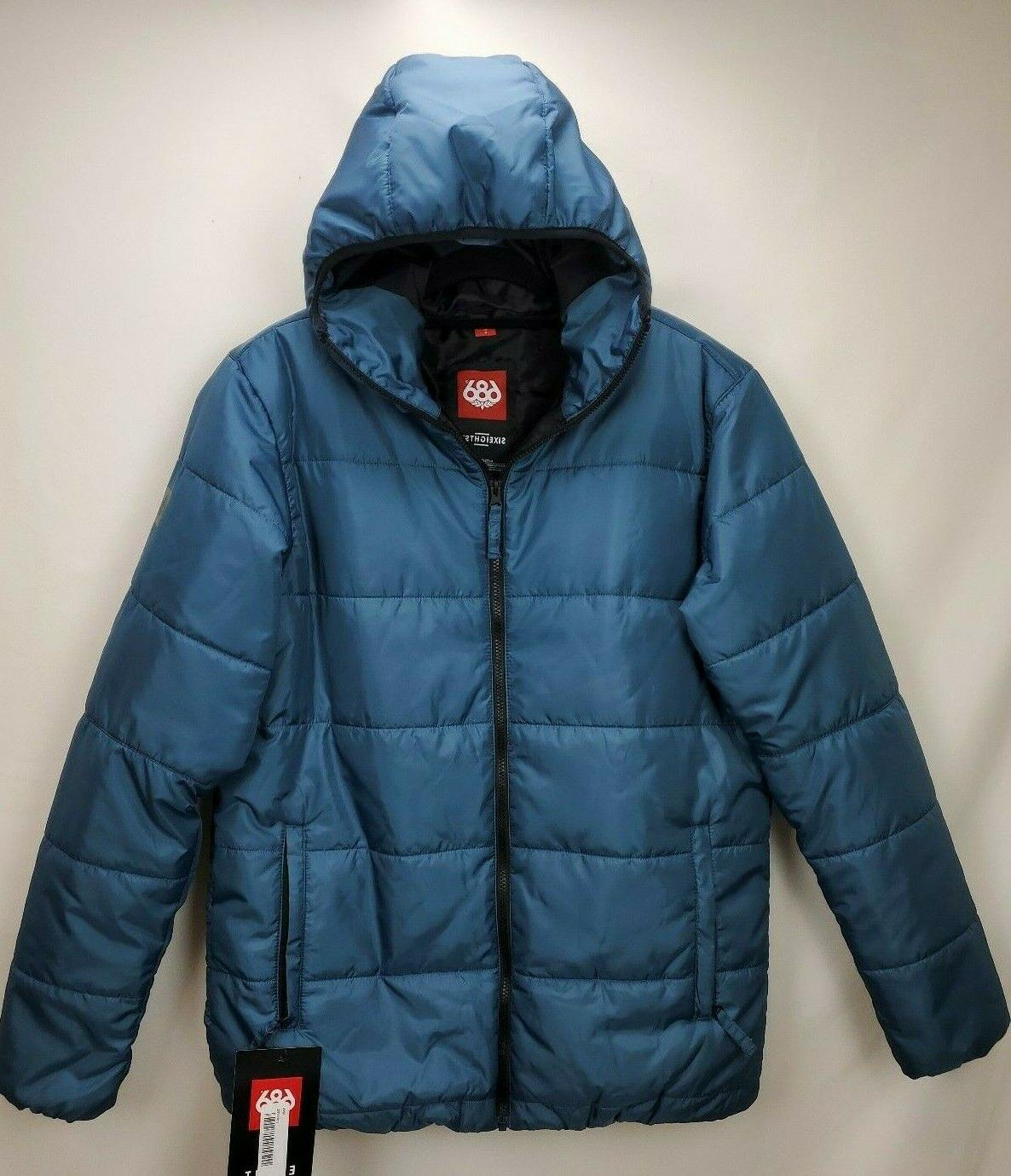 686 mens warmix puffer snowboard ski jacket
