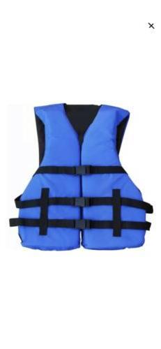 Adult Life Jacket/Vest PFD USCG Type III Universal Boating S