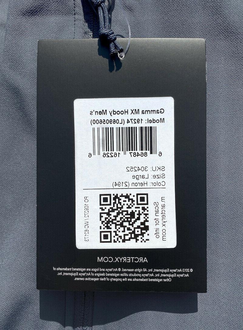 ARC'TERYX Gamma Jacket Soft Shell HERON LEAF Veilance