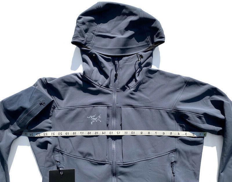 ARC'TERYX Gamma Jacket Shell HERON GRAY L LEAF Veilance