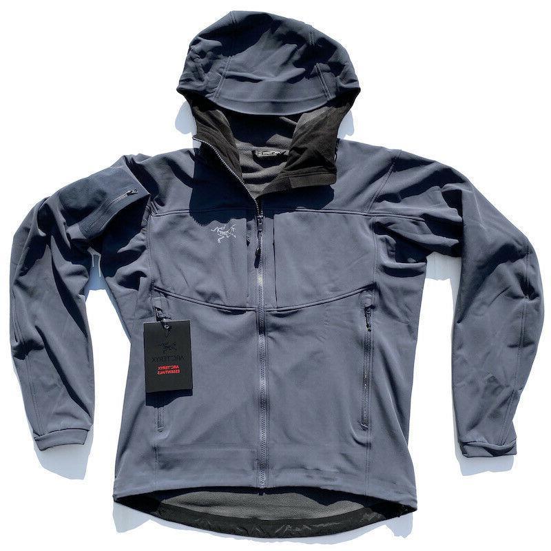 ARC'TERYX Jacket HERON GRAY L LEAF