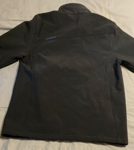 SPYDER Boys Black Zip Soft Ski Jacket