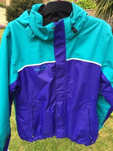 •Dare2be Ski Jacket Size large Euro 46 Boys Girls Blue Ingress