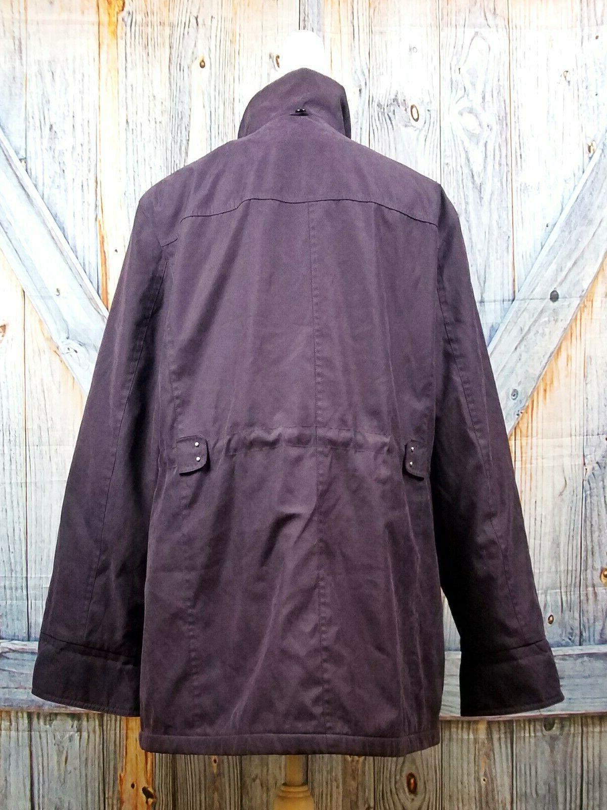 EGGPLANT PURPLE Ski Coat Winter Wind Resistant Jacket XL 1x