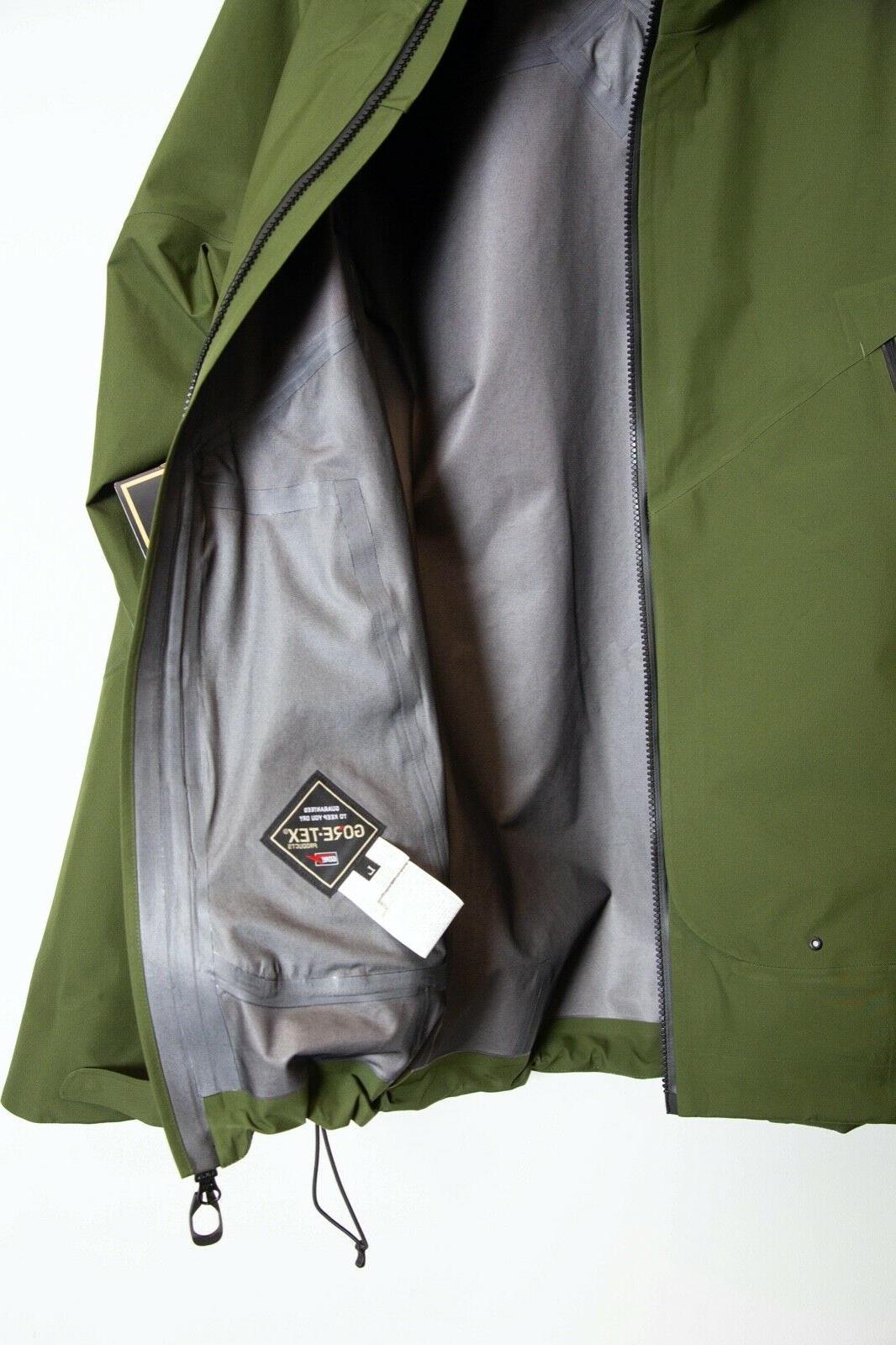 Goldwin Jacket Tags Olive