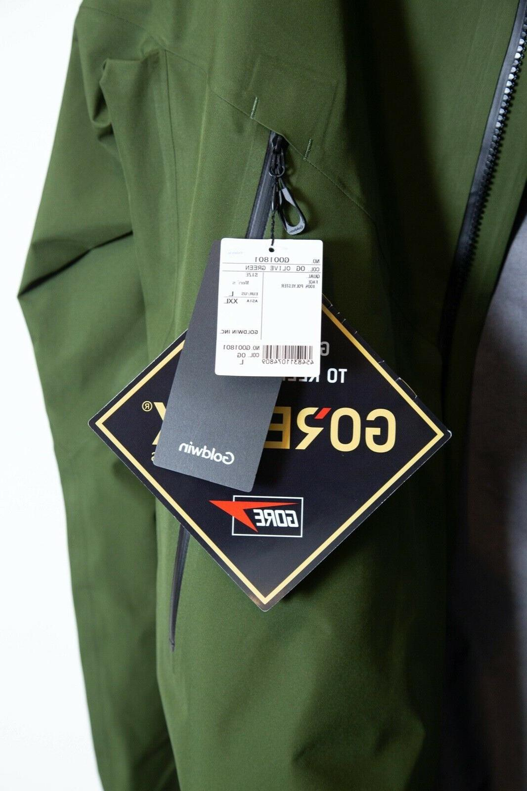 Goldwin Gore-Tex Jacket New With Olive