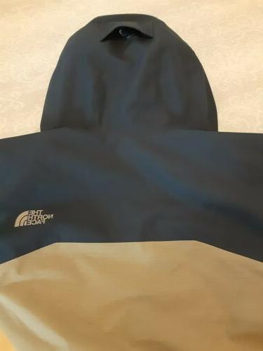 The North Blue Tan Ski Jacket NEW