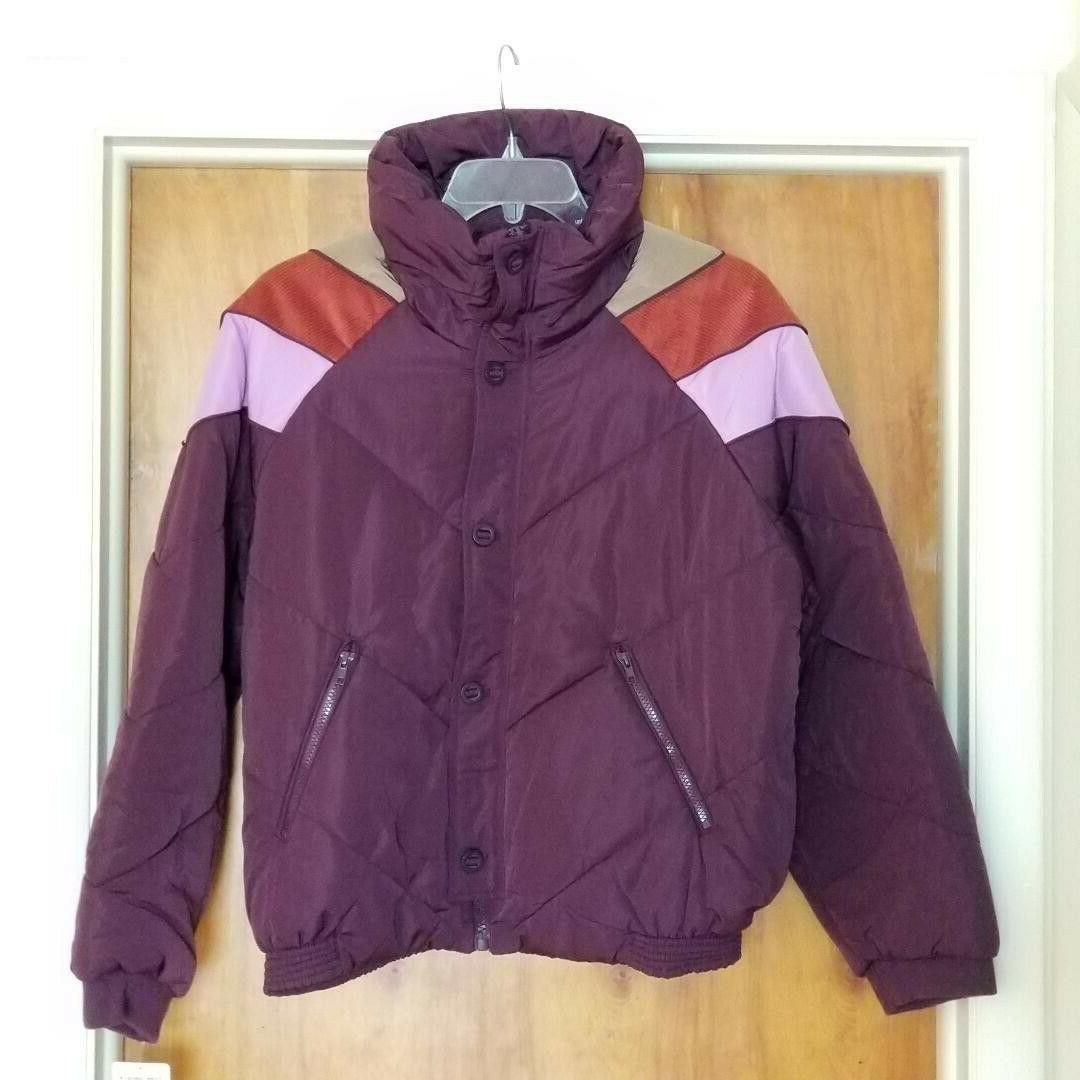 heidi ski puffer jacket size large