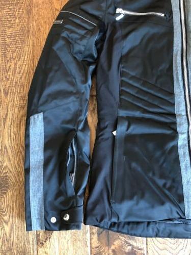 KarbonIon Womens Hooded Ski Jacket 650 Black