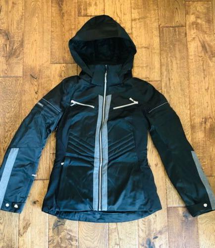 ion womens hooded down ski jacket 650