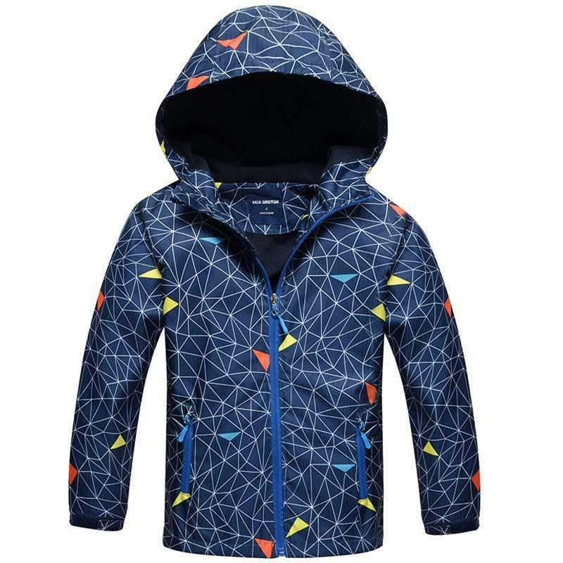 Kids Snow Warm Jacket Coats Outwear