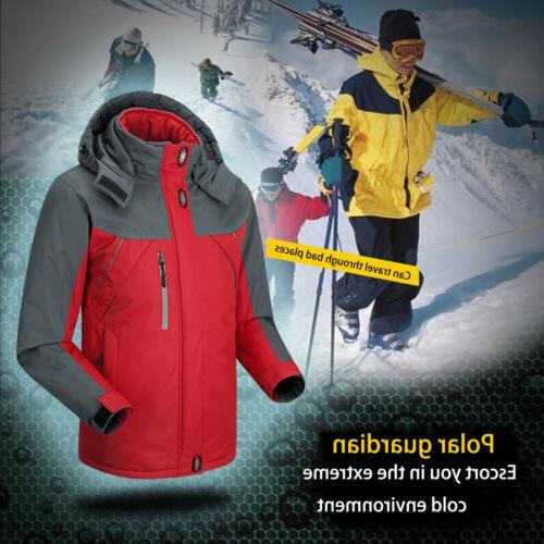 Men Outdoor Fleece Waterproof Ski